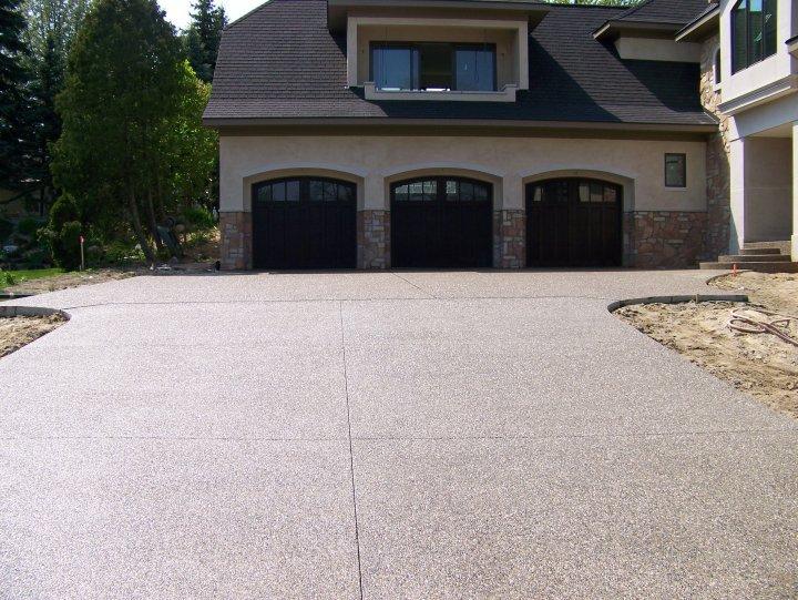 Michigan Exposed Aggregate Concrete