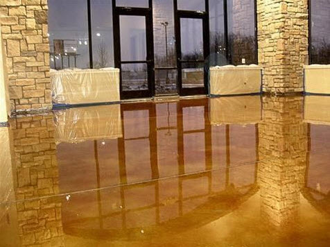 Acid Stained Floors Oakland County
