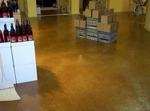 Michigan Acid Stain Flooring Service