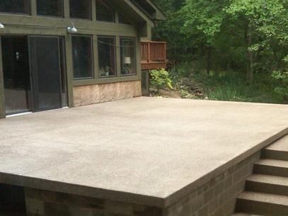 Michigan Concrete Patio Installers