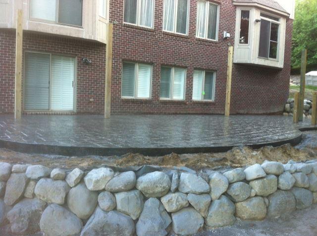 Oakland County Concrete Patio