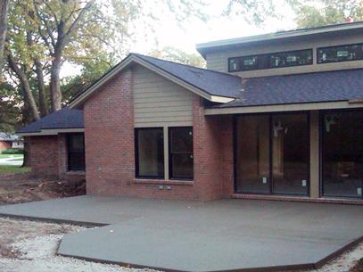 concrete patio oakland county mi