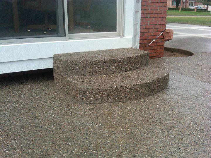 Exposed Aggregate Concrete Archives Mazza Concrete Michigan Concrete Service