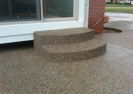 Exposed Aggregate Concrete MI