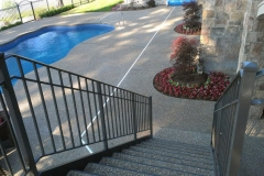 Pool Deck Exposed Aggregate MI