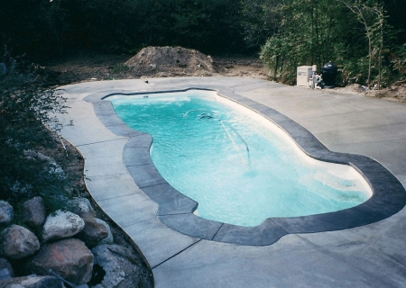 Concrete Pool Deck MI