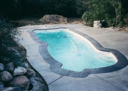 Concrete Pool Deck MI