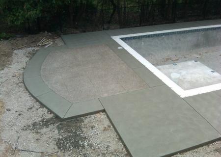 Standard Concrete Pool Deck MI