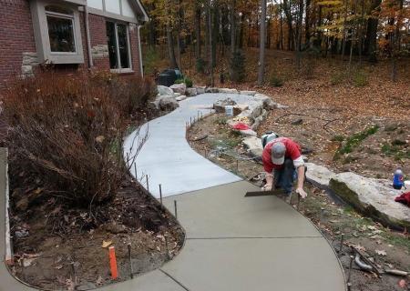 Standard Concrete Walkway MI