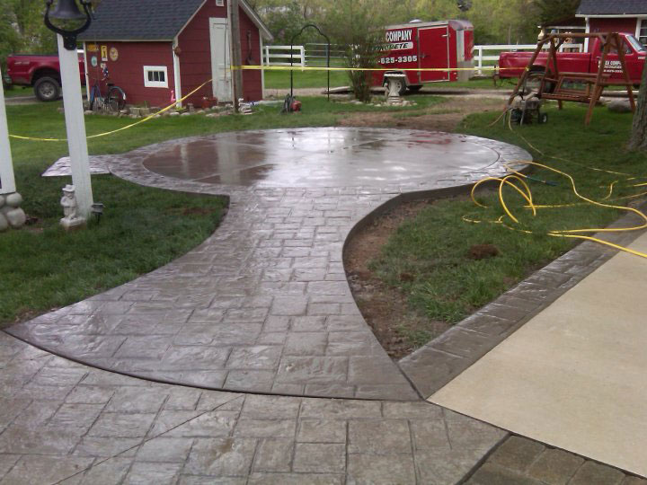 Michigan Stamped Concrete